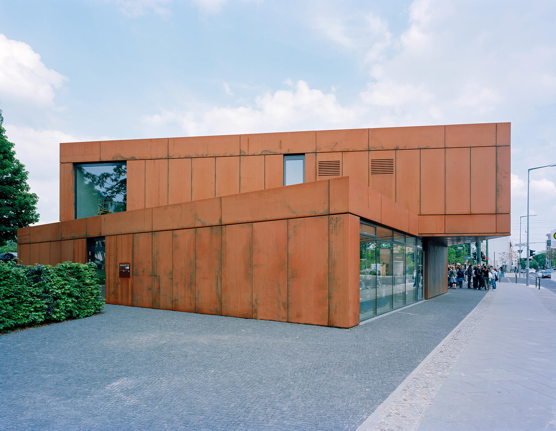 Besucherzentrum der Gedenkstätte Berliner Mauer in Berlin
