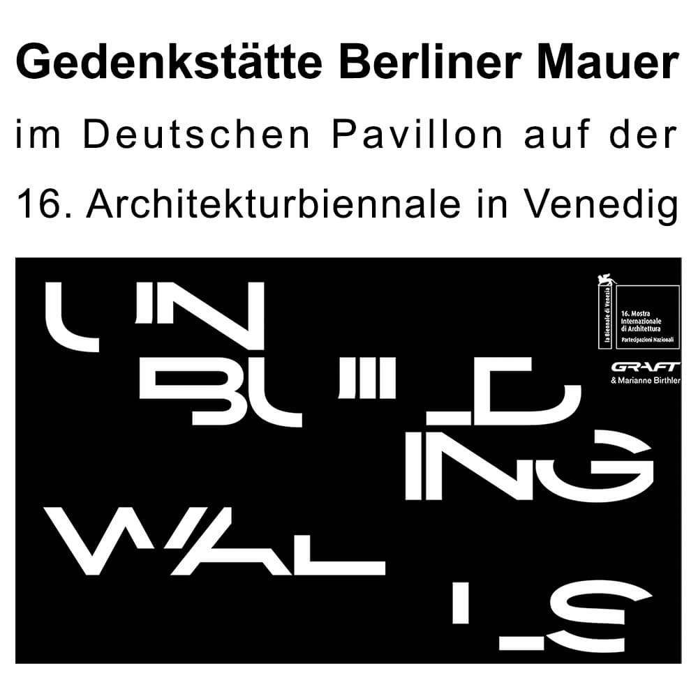 Unbuilding walls Biennale 01